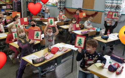 Noël pour les résidents de l'Orée des Bois